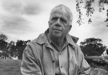 Robert Frost Says