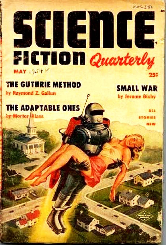 Daily Robot May 1954 Science Fiction Quarterly