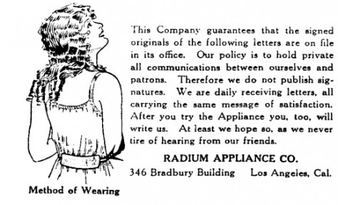 radium belt