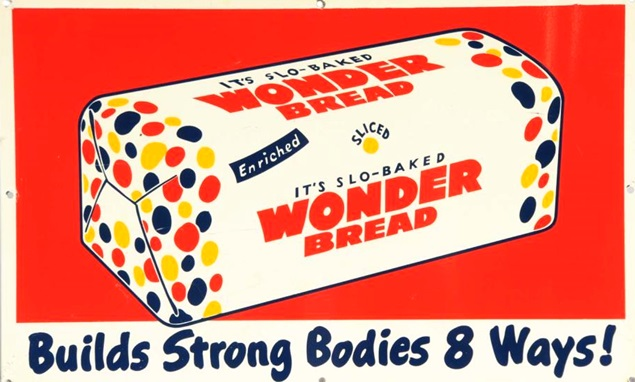 Wonder Bread 1920 Wonder breadWonder Bread 1920