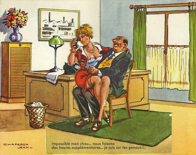 French naughty postcards