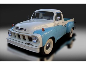 Possibly the most beautiful pickup truck ever produced --the 1958 Studebaker Transtar Pickup Truck