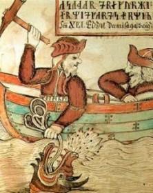 Thor and the Jörmungandr