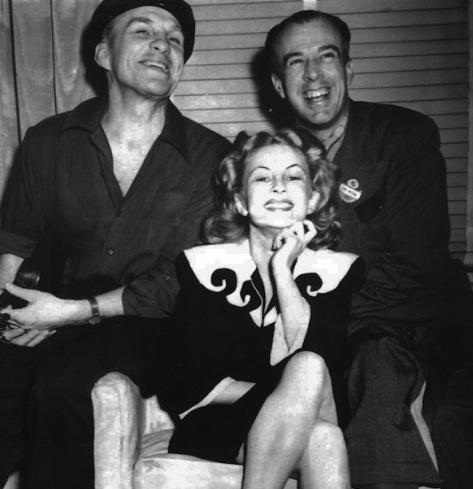 Zoe, Earl Moran, and Rolf Armstrong