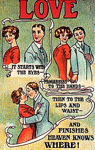 Confirm. love and sex postcards curious topic