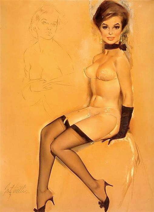 Today's Vintage Pin Up: Fritz Willis   The Müscleheaded Blog