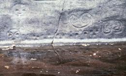Petroglyphs at Reef Bay