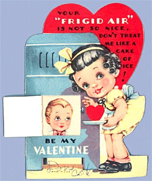 vintage valentines day card – Vintage Valentines Card