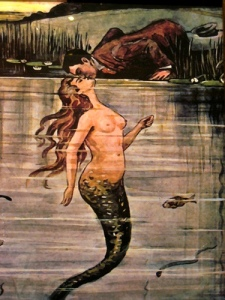mermaid-with-man-kissing