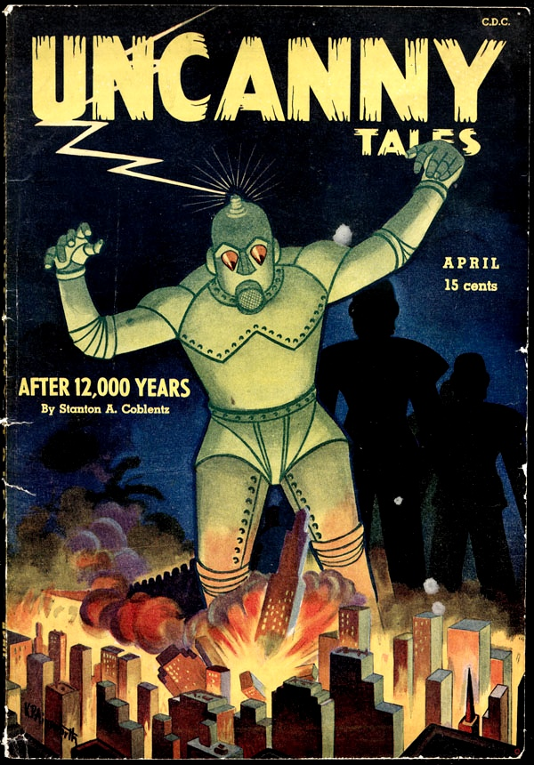 The Daily Robot Uncanny 1944