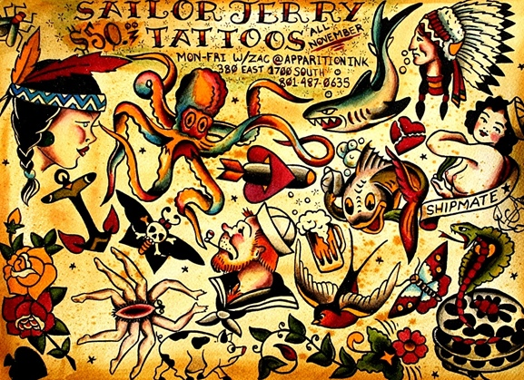 Gallery for american traditional tattoo background for Classic american images
