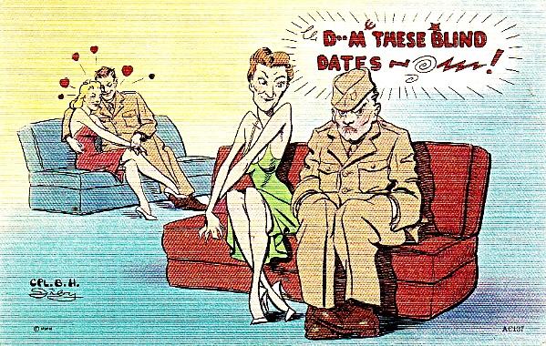 blind date humor