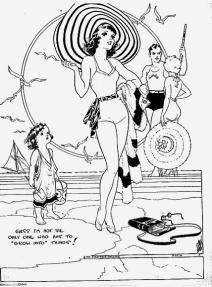 Image result for flapper humor postcard