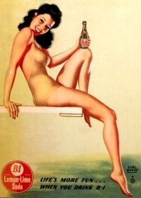 Image result for vintage soda poster