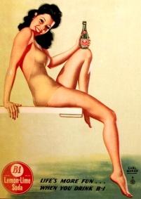 Image result for vintage soda poster