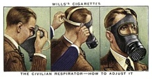 cigarettes and repirators