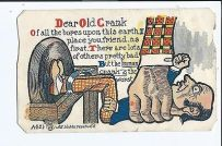 Image result for cheapskate postcard vintage