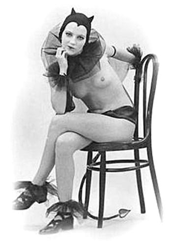 vintage pin up little devil girl 1940 s the müscleheaded blog