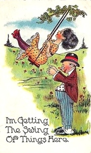 im-getting-the-swing-of-things-here-posted-1913-vintage-comic-postcard-1784ffe4e6cd85266cd83040a181997a