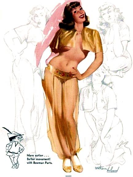 Vintage Magazine Art 27