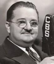 ca. 1940s, USA --- Original caption: USA: Alexander Woolcott (1887-1943), American journalist writer, influential as Town Crier Of The Air in the 1930s. --- Image by © Bettmann/CORBIS