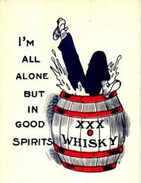 Image result for whiskey postcard vintage